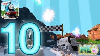 Thomas And Friends Magic Tracks: Gameplay Walkthrough Part 10 - Lava Race (iOS, Android)