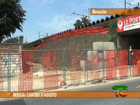 Brescia: cantieri d'agosto