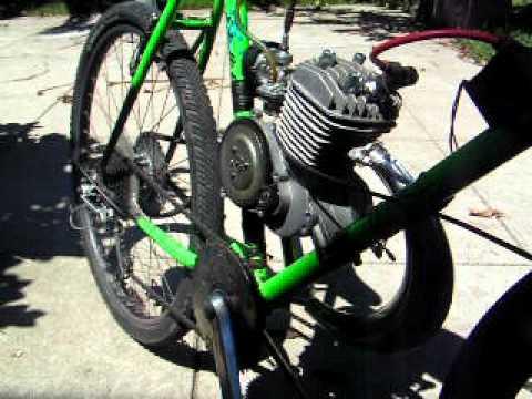 Motorized bike 66cc tuned up
