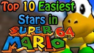 Top 10 Easiest Super Mario 64 Stars