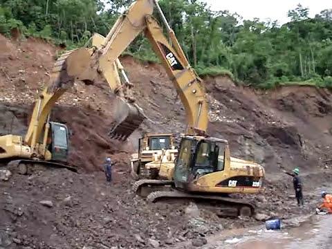 Excavadora Hidraulica Caida (Nunca Antes Visto)