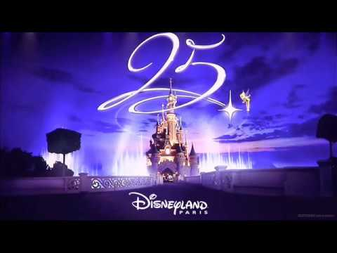 Disneyland Paris 25th Anniversary A Dream Is Wish Your Heart Makes