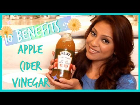 10 Benefits of Apple Cider Vinegar │ Skin, Hair, Weight Loss, Detox, Allergies,  & More!