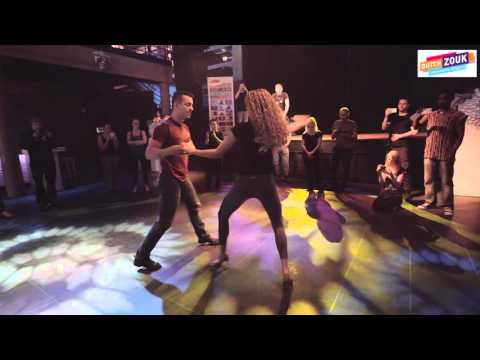 Allison + Audrey - Dutch Zouk International Congress 2015 - Demo 1