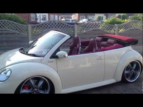 "new beetle cabriolet air ride 20"" foose rims"