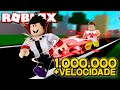 EM BUSCA DOS 1.000.000 X DE VELOCIDADE NO SPEED SIMULATOR 2 ROBLOX