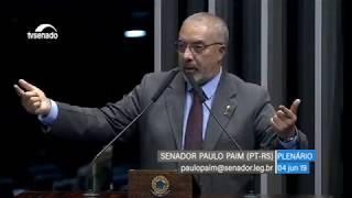 Paim critica sessão que aprovou MP de combate às fraudes no INSS
