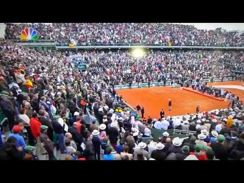 Rafa Nadal speaks after winning 2013 French Open
