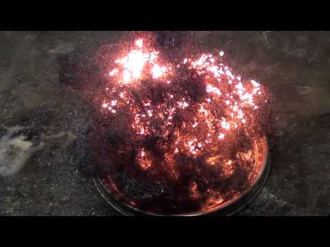 BURN STEEL WOOL