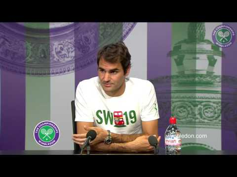 Seven-time champion Federer discusses back injury and hopes for The Championships