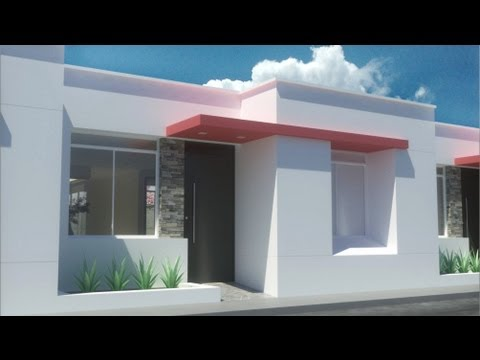 casa moderna de 7.00m x 15.00m un piso Condominio Valle Vista.