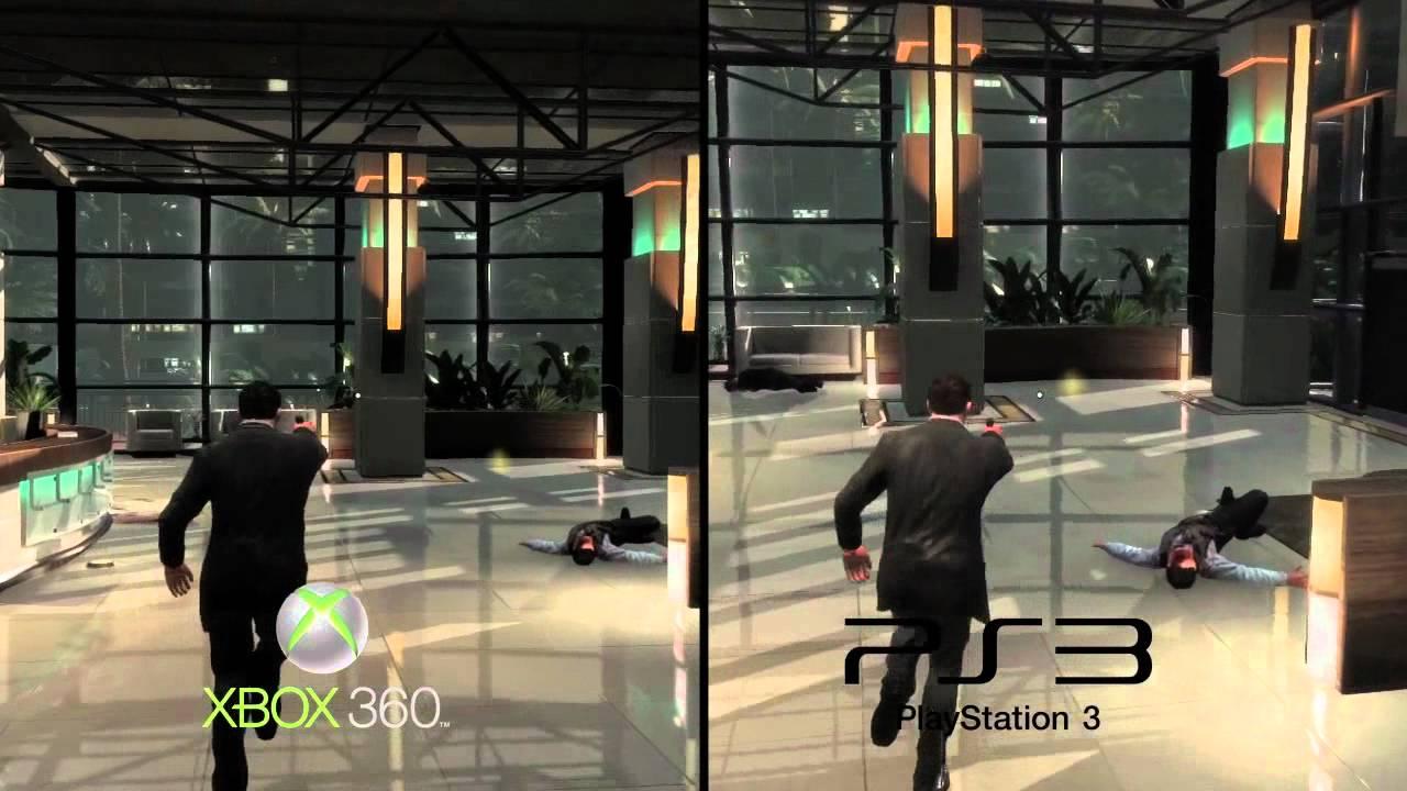 xbox 360 versus playstation 3