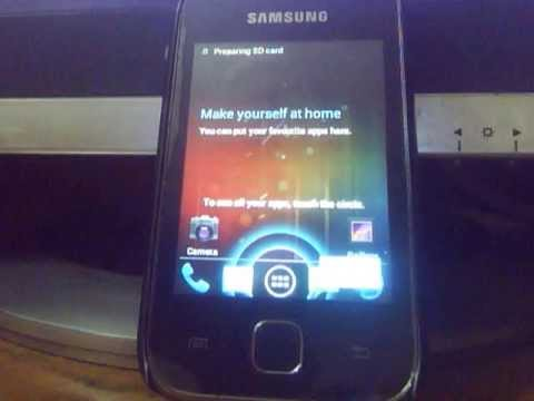 Installing CyanogenMod 9 on Samsung Galaxy Y (Latest One)