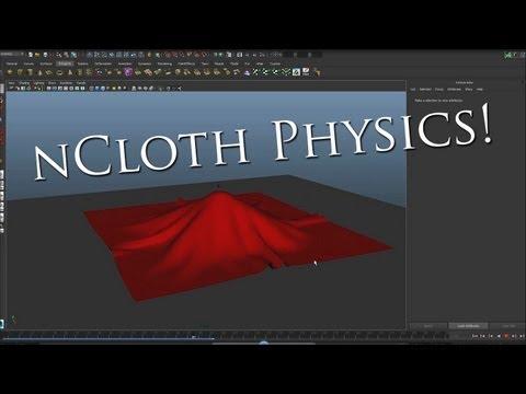Autodesk Maya: nCloth Tutorial