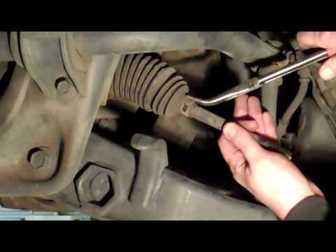 Replacing a Rack & Pinion Type Inner Tie Rod DIY