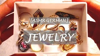 "[ASMR GERMAN]  💍 ""CRINKLY"" JEWEL(LE)RY  