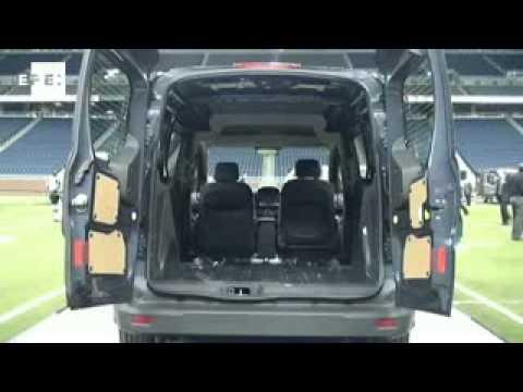 Ford presenta en Detroit nuevo modelo de furgoneta fabricado en España