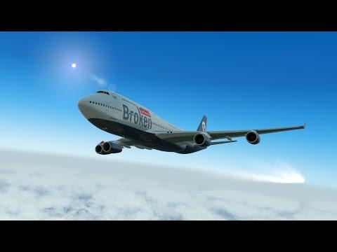 Закрылки не выходят. Boeing 747-400 для Prepar3D v4.1
