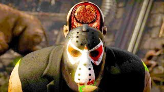 Mortal Kombat XL - All Fatalities & X-Rays on Bane Jason Costume Mod 4K Ultra HD Gameplay Mods