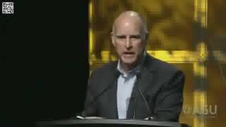 Jerry Brown speaks to the AGU national conf Dec 2016