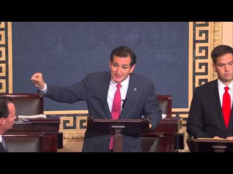 Sens. Ted Cruz, Mike Lee, and Marco Rubio Engage in a Colloquy on Defunding Obamacare