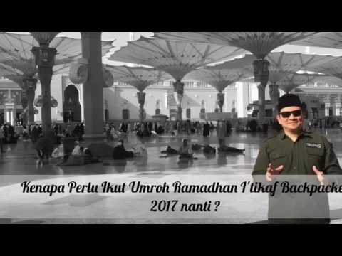 Video pengalaman umroh ramadhan backpacker