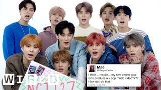Nct 127 Answer K Pop Questions From Twitter Tech Support Wired