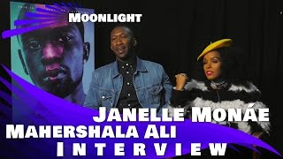 Mahershala Ali and Janelle Monáe Interview  - MOONLIGHT