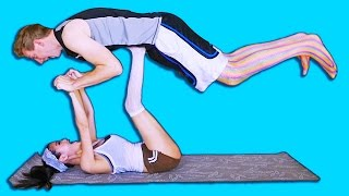 Yoga Challenge with my Boyfriend ft. Chad Wild Clay