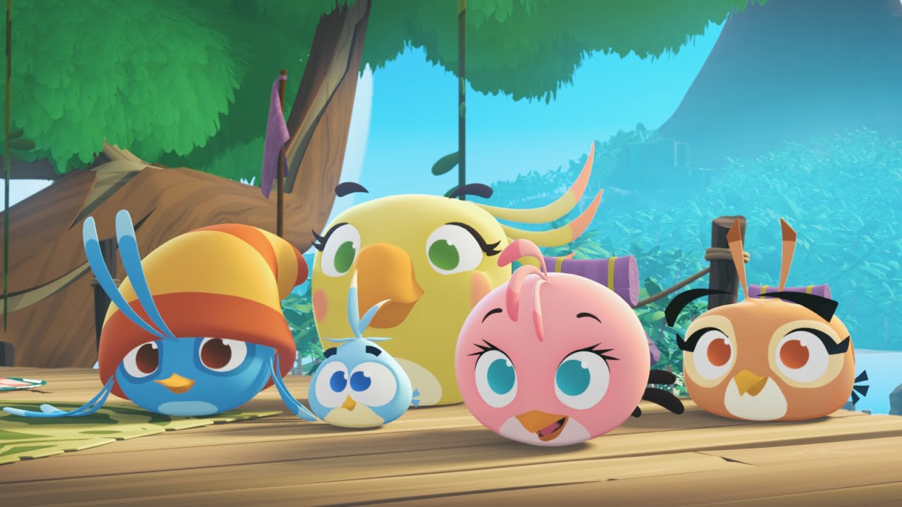 Angry Birds Stella Animated Series Teaser Youtube