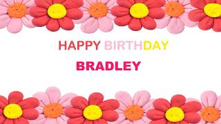 Bradley   Birthday Postcards & Postales