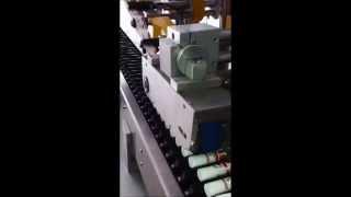 yatay etiket makinası