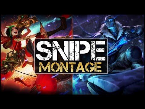 Best Snipes Montage - League of Legends