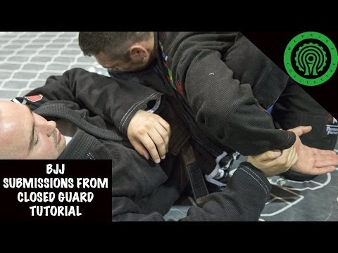 BJJ Submissions from Closed Guard Tutorial Image 1