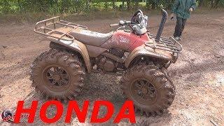 """HONDA 300...28"""" TIRES...SNORKELS...GEAR REDUCTION...TALL PINES ATV PARK PT 1"""