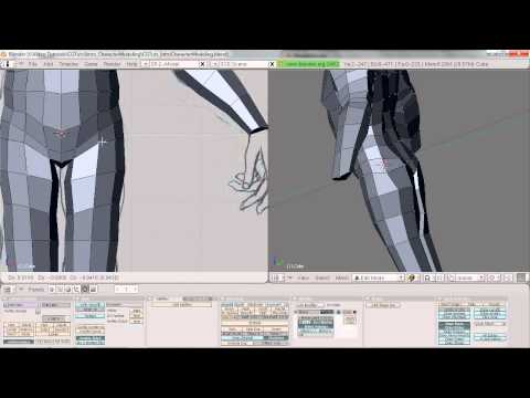 Basix - Intro to Character Modeling in Blender 2.5