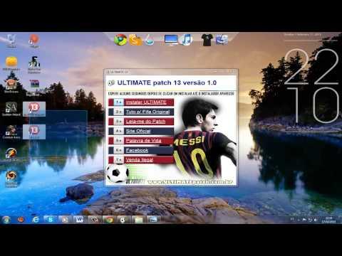 Ultimate Patch Fifa 13 Pirata e Original