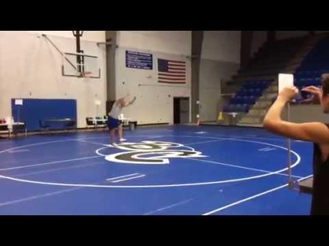 Zach Hale back flip