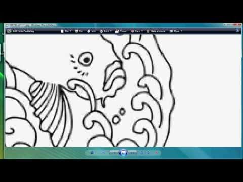 Optimizing Marginal Raster Clipart and Vectorizing With Corel PhotoPaint and Draw For Sandcarving