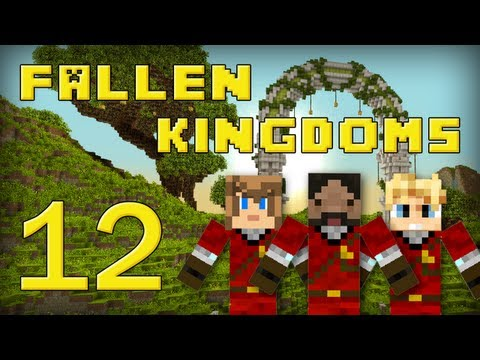 Fallen Kingdoms : Frigiel, Zelvac, Playfan | Jour 12 - Minecraft video