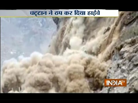 Watch Massive Landslide Caught on Camera in Uttarakhand's Joshimath