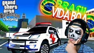 💀GTA ROLEPLAY PARA ANDROID! SERVIDOR BRASILEIRO! MEU PRIMEIRO DIA NA CIDADE!