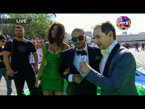 Тимати на красной дорожке Премии Муз-ТВ 2011
