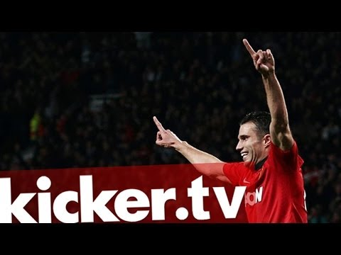 Totalschaden verhindert: Van Persie rettet Manchester United - kicker.tv