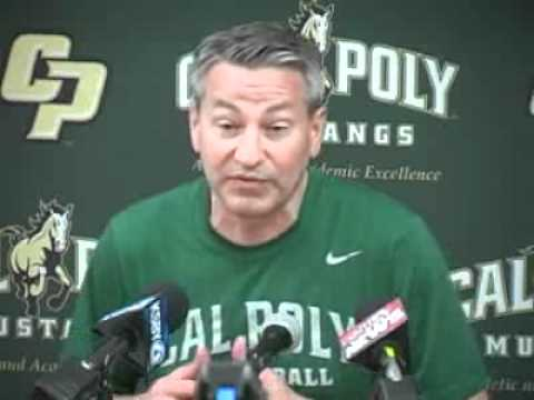 Cal Poly Men's Basketball Coach Joe Callero