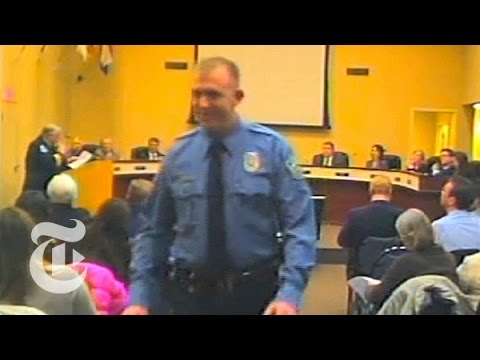 (Video starts at 00:18:55 mark)  A St. Louis County grand jury has brought no criminal charges against Darren Wilson, a white police officer who fatally shot Michael Brown, an unarmed African-American teenager, more than three months ago in nearby Ferguson.  The decision was announced Monday night by the St. Louis County prosecutor, Robert P. McCulloch, at a news conference packed with reporters from around the world. The killing on a residential street in Ferguson set off civil unrest — and a national debate — fueled by protesters' outrage over what they called a pattern of police brutality against young black men.  Read the story here: http://nyti.ms/1zm7Eo9  Subscribe to the Times Video newsletter for free and get a handpicked selection of the best videos from The New York Times every week: http://bit.ly/timesvideonewsletter  Subscribe on YouTube: http://bit.ly/U8Ys7n  Watch more videos at: http://nytimes.com/video  ---------------------------------------------------------------  Want more from The New York Times?  Twitter: https://twitter.com/nytvideo  Facebook: https://www.facebook.com/nytimes   Google+: https://plus.google.com/+nytimes/  Whether it\'s reporting on conflicts abroad and political divisions at home, or covering the latest style trends and scientific developments, New York Times video journalists provide a revealing and unforgettable view of the world. It\'s all the news that\'s fit to watch. On YouTube.  Ferguson Shooting 2014: No Indictment of Officer Darren Wilson in Michael Brown Death  http://www.youtube.com/user/TheNewYorkTimes