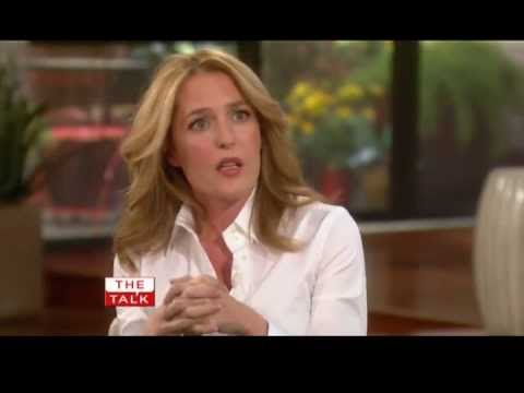 The Talk. Gillian Anderson (27.07.2011)