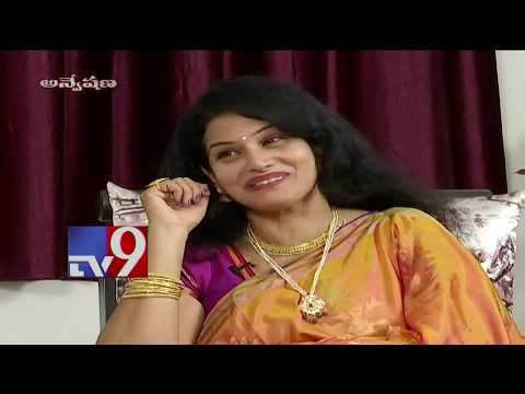 Anveshana team finds 'Aa Okkati Adakku' movie veteran actress Lathasri - TV9