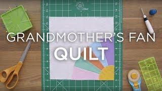 Quilt Snips Mini Tutorial - Grandmother's Fan Quilt