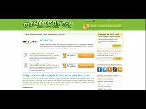 Código promocional Amazon.es  ¡Descuentos y Cheques Regalo Amazon España!